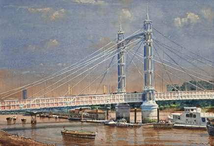 Jonathan Pike, Albert Bridge