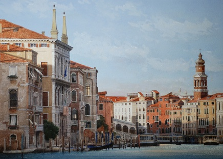 Jonathan Pike, Grand Canal towards Rialto