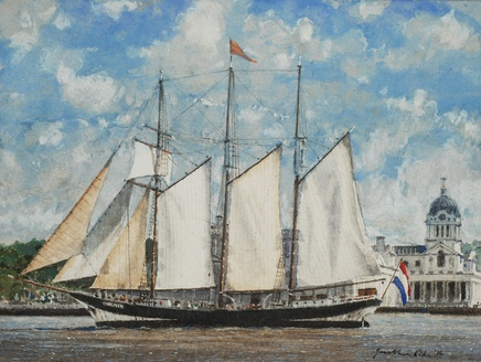 Jonathan Pike, Oosterschelde at Greenwich