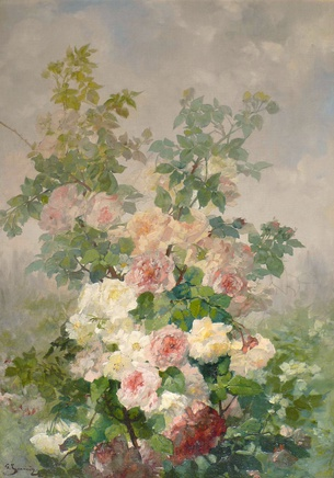 Georges Jeannin, Study of Roses