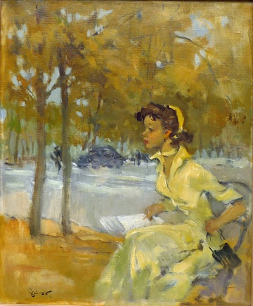 Pierre Grisot, In the park