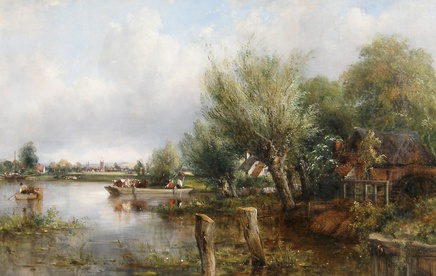 Frederick William Watts, The Thames, near Henley