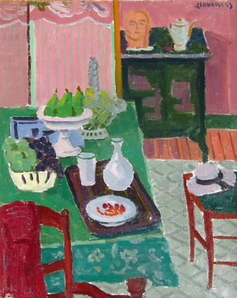 Jules Cavailles, Green Table