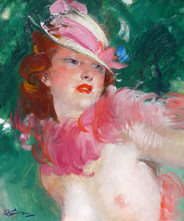 Jean Gabriel Domergue, The New Hat