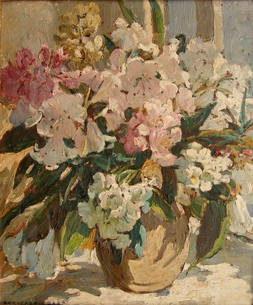 Dorothea Sharp, Study of pink flowers