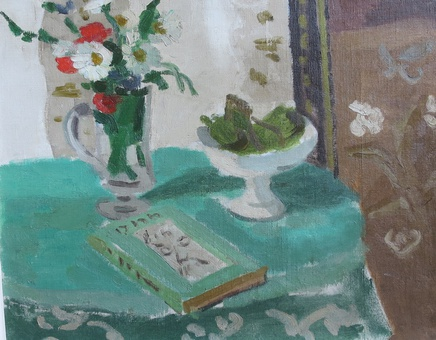 Jules Cavailles, Still Life With Book