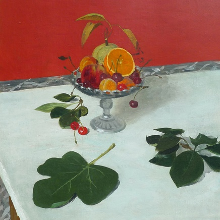 Roger Chapelain-Midy - Still life with fruit in a glass bowl