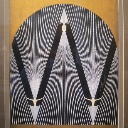 Roman De Tirtoff 'Erté' - Diamond Curtain for 'The Treasures', George White's Scandals, New York, 1925
