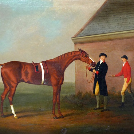 Daniel Clowes - Eclipse and his trainer and jockey, Jack Oakley