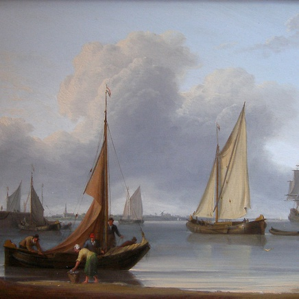 William Anderson - Dutch coastal scene