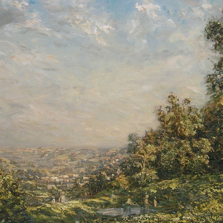 Philip Wilson Steer - The Golden Valley, Stroud