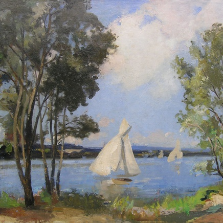 Paul-Michel Dupuy - Sailing boats
