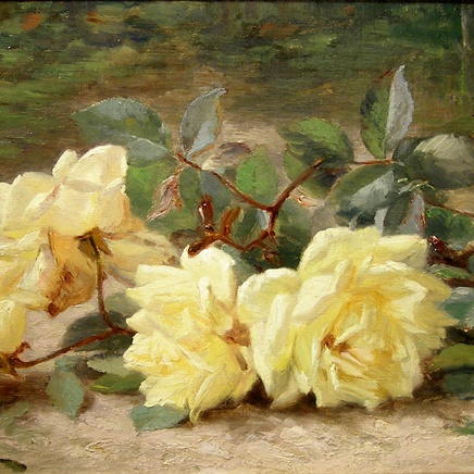 Eugene Claude - Yellow roses