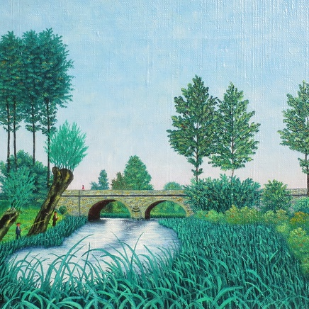 Camille Bombois - Landscape with Bridge