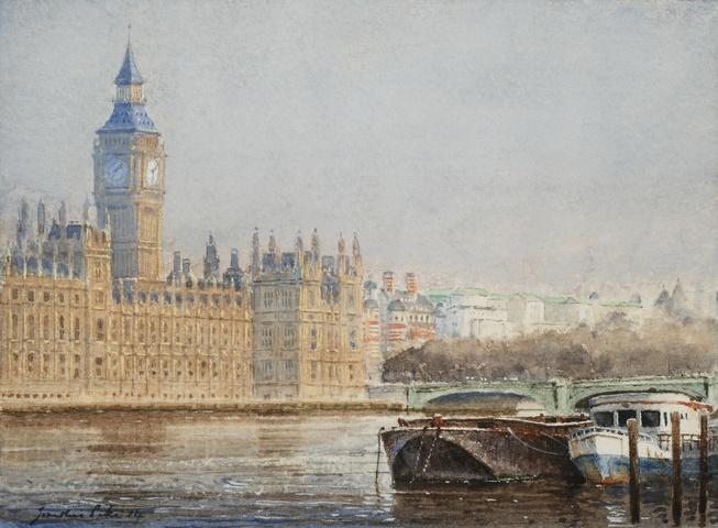 Jonathan Pike, Westminster, Early Morning